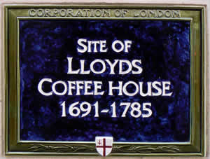 Image result for Edward Lloyd's Coffeehouse on Lombard Street
