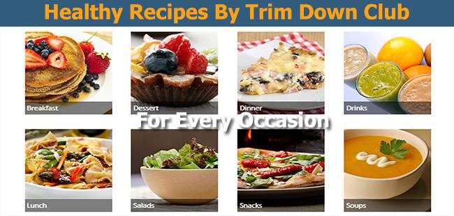 Trimdown Club Recipes