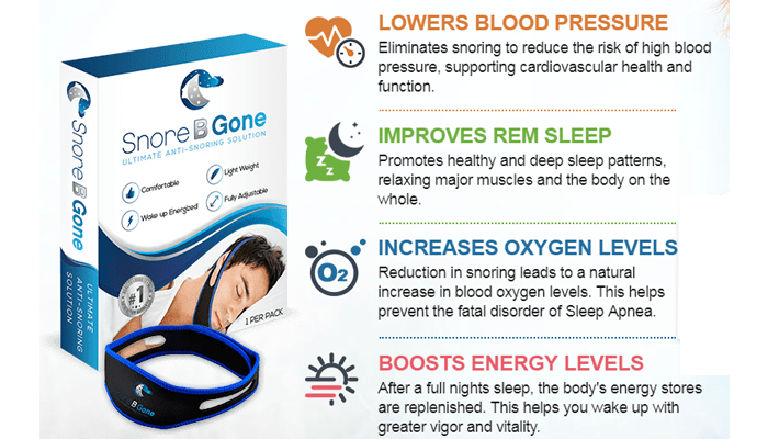 Snore B Gone benefits