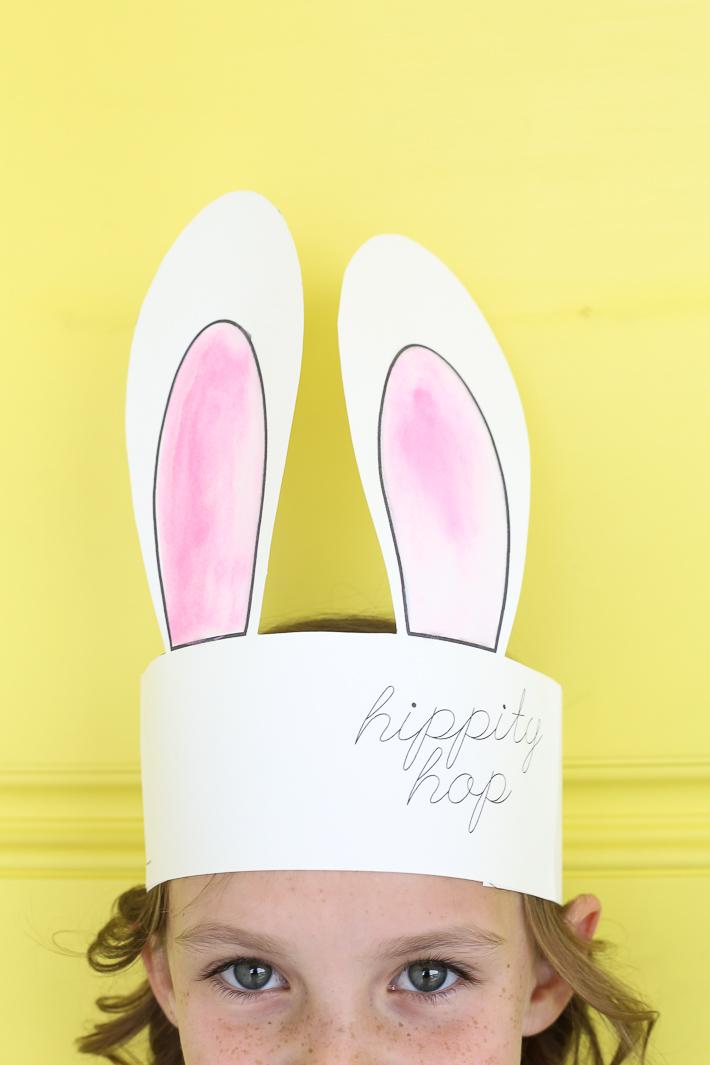 Bunny Ears Free Printable