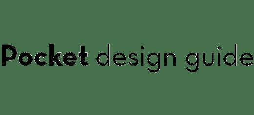 POCKET DESIGN GUIDE