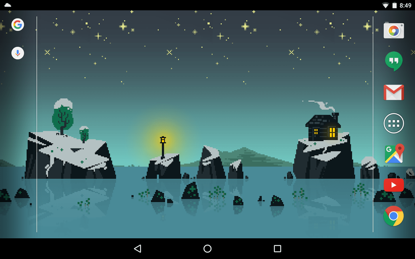 Review  Pixelscapes   Pure Pixel Magic for Your Android Screen Care to turn your Android device into a work of pixel art  If games like  Nub s Adventure  Tiny Death Star  Wayward Souls  The Enchanted Cave 2   Quest Keeper