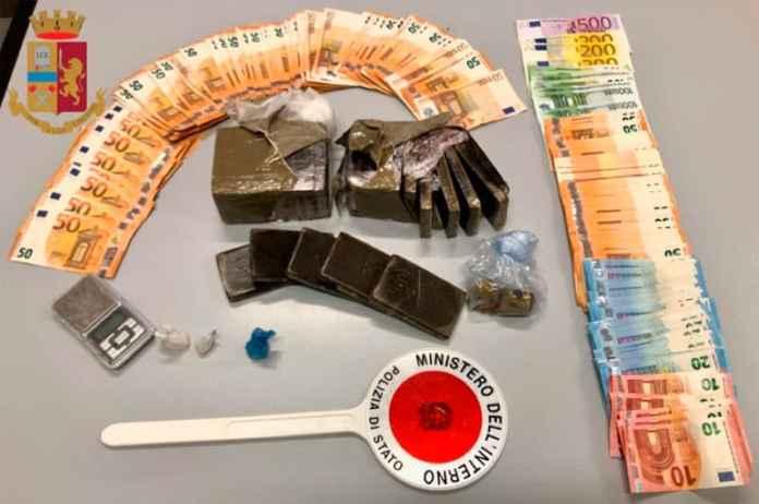 Rozzano-spacciatore-23enne-arrestato