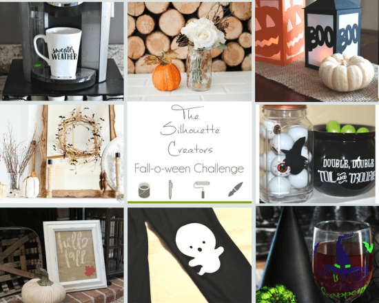 Fall and Halloween Silhouette Crafts