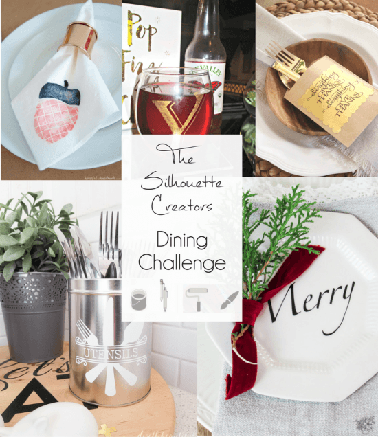 The Silhouette Creators Challenge - Dining Challenge