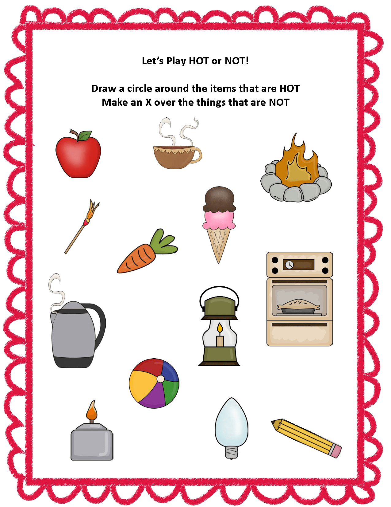 Fire Safety Life Skills Activity Pack