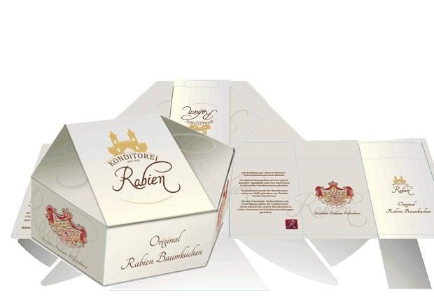 Konditorei Rabien Baumkuchen Verpackung