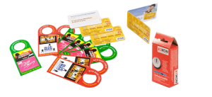 Mini-Karten mit Lochstanzung