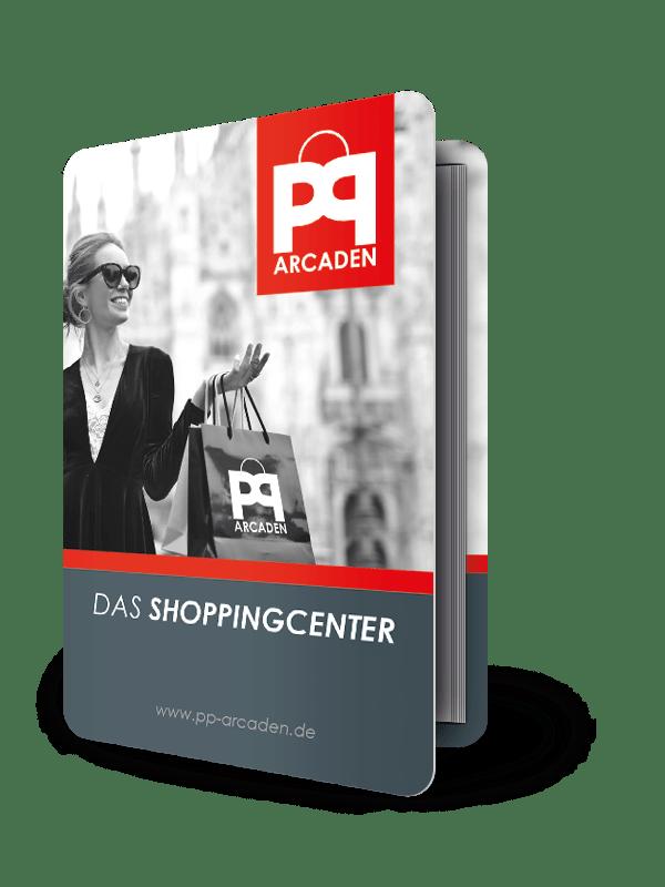 PocketPlaner mit Einstecklasche für ein Shopping-Center