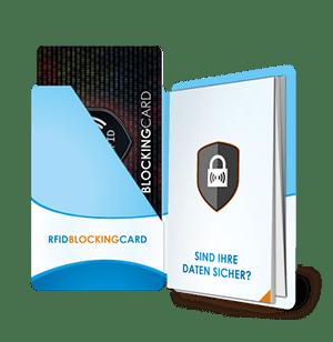 PocketPlaner mit einer RFID-Blocking-Card