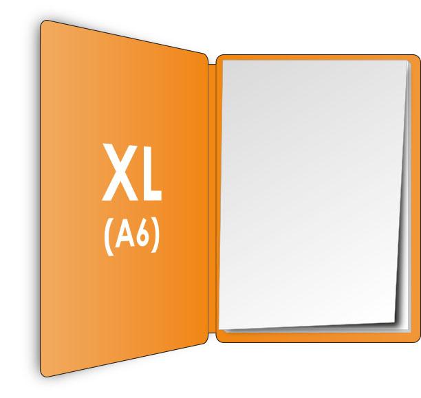 PocketPlaner-XL (DIN A6) geöffnet