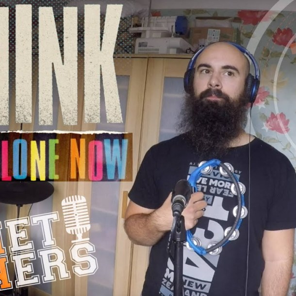 Thumbnail for the music video I Think We're Alone Now performed by The Pocket Rockers