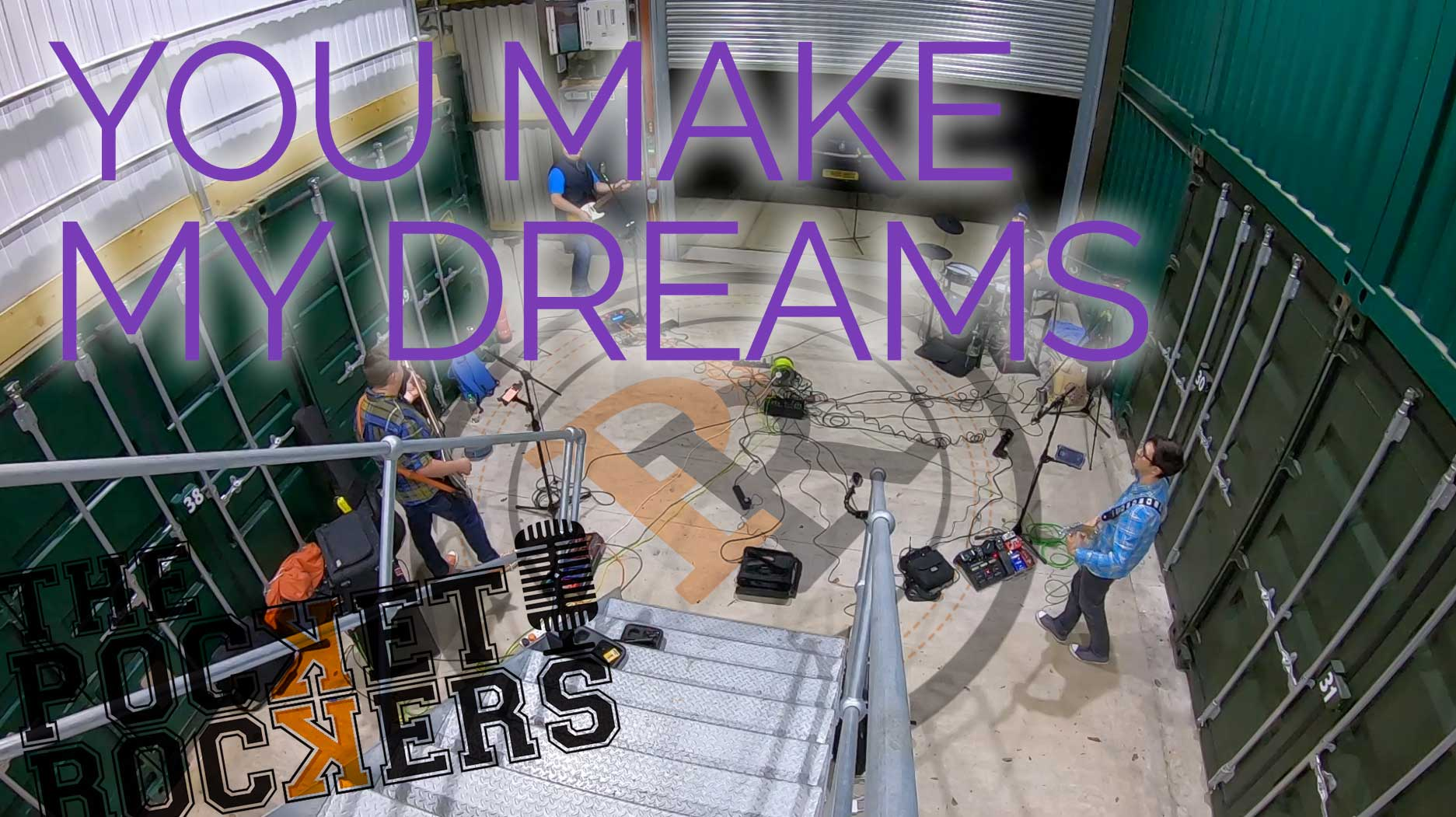 Thumbnail for the music video You Make My Dreams performed by The Pocket Rockers