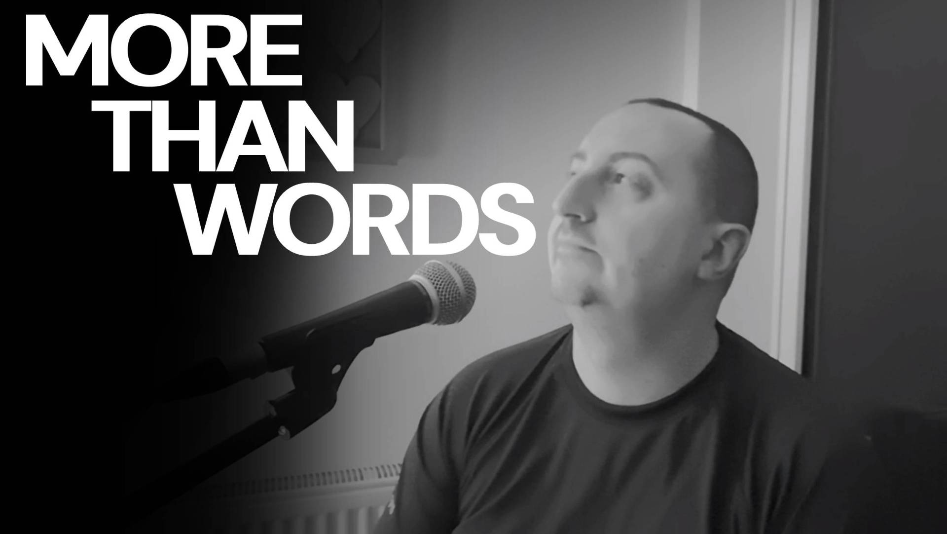 Thumbnail for the music video More Than Words performed by acoustically The Pocket Rockers