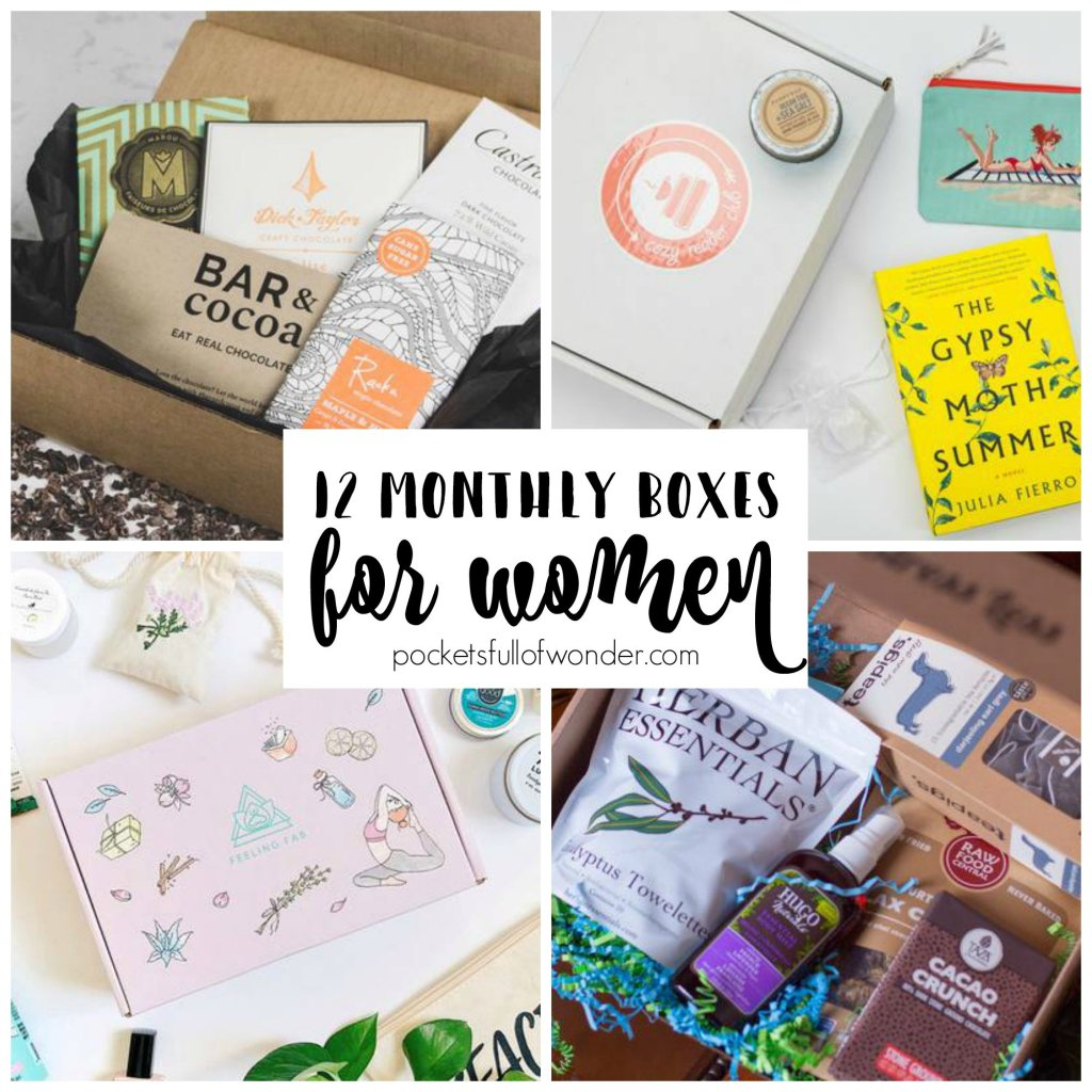 Monthly Subscription Boxes Collage