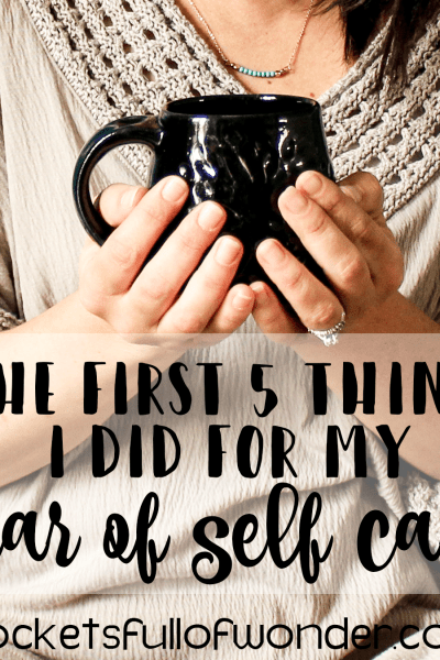 The First Five Things I Did For My Year of Self Care