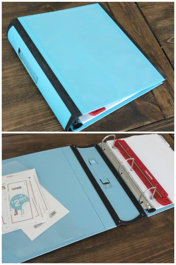 Organizing for Unorganized People - Meal Planner Meal Planning Binder
