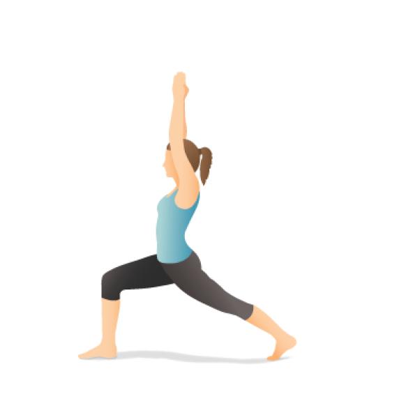 Yoga Pose: Crescent Lunge