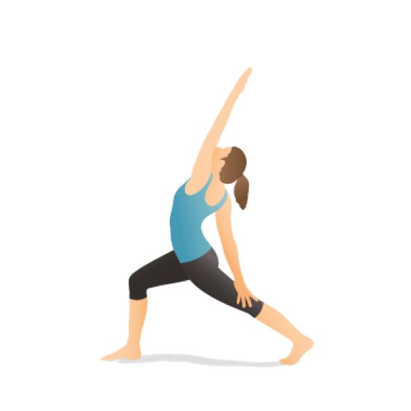 Yoga Pose: Reverse Crescent Lunge Twist