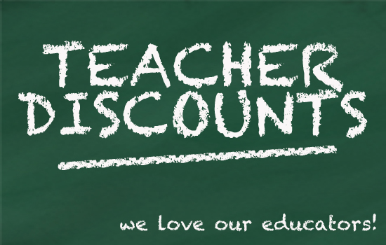 Image result for teacher discounts