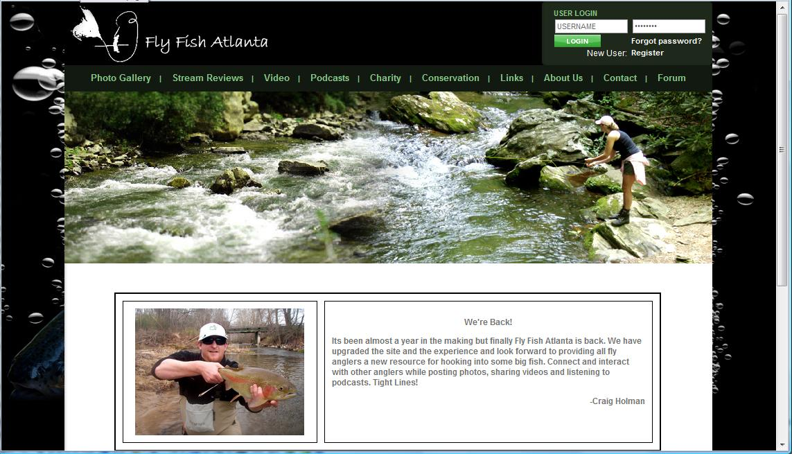Client focus fly fish atlanta poc network tech for Fly fishing atlanta