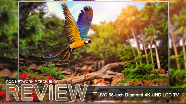 Review: JVC 65-inch Diamond 4K UHD LCD TV (DM65USR)