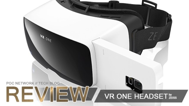 A review of the VR One headset by Zeiss for iOS and Android Phones | Poc Network // Tech