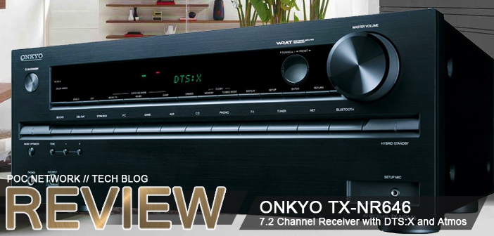 Review: Onkyo TX-NR646 7.2 Channel Receiver with DTS:X and Dolby ...