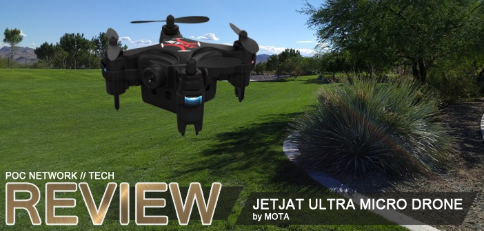 Review: JetJat Ultra micro drone with camera by Mota