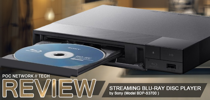 Review Sony BDP S1700 Streaming Blu Ray Player