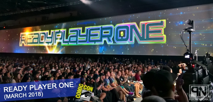 Ready Player One from book to movie, coming 2018 (Comic Con)