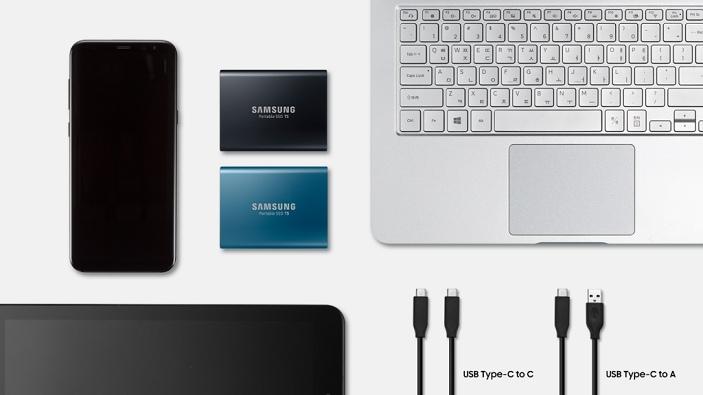 Samsung debuts new T5 external SSD, starting at $129.99