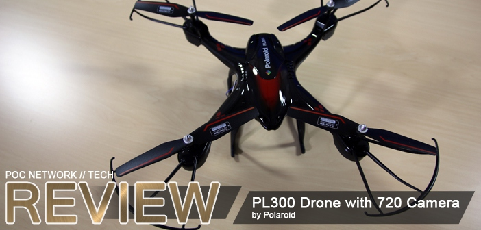 Review: Polaroid PL300 Drone with Camera