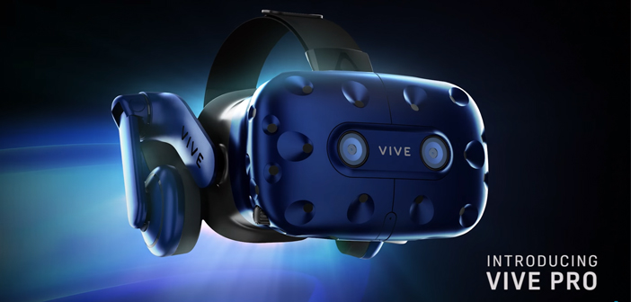 HTC announced new Vive Pro VR headset at CES, and it looks nice