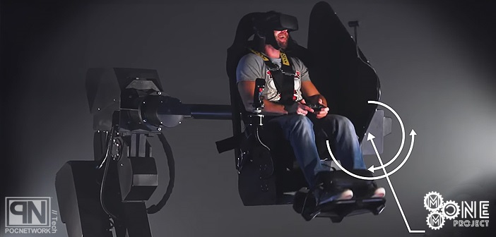 mmone virtual reality motion chair to be debuted this nascar weekend