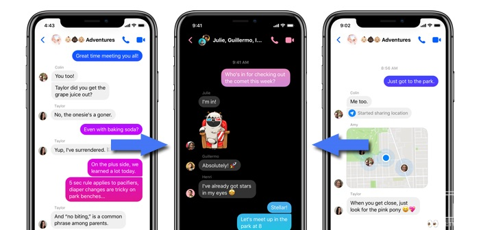 Enabling dark mode in Facebook Messenger (Android devices