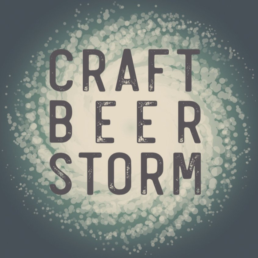 Craft Beer Storm Podcast Art