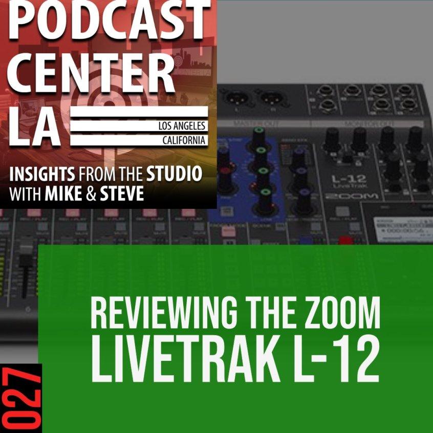 Zoom Livetrak L-12 Review