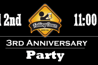 Live at Falling Down Beer Company's 3rd Anniversary Party