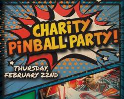 Charity Pinball Party