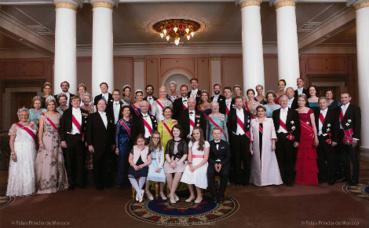Photo publiée sur la page Facebook du Palais princier (c) DR