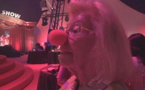 Léa Chollet au Circus Dinner Show. Photo (c) E.E.
