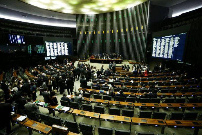 O plenário da Câmara dos Deputados Marcelo Camargo/Agência Brasil