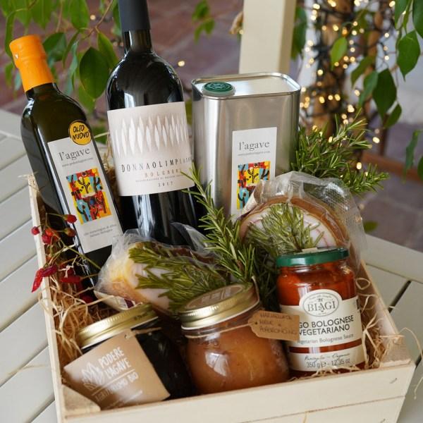 gift box organic tuscan products