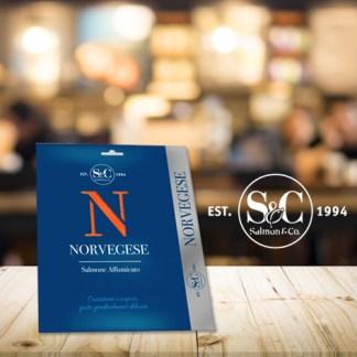 Salmone Norvegese Affumicato 100 gr. Podere San Felice
