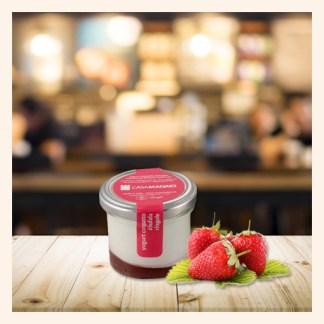 Yogurt Fragole Casa Madaio Podere San Felice