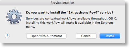 Extracticons install