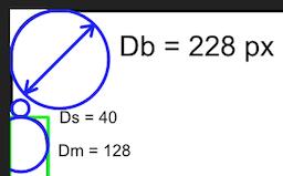 corner geometry as described in the post