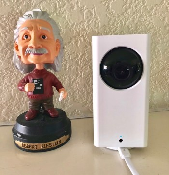 Wyze Cam Pan with Einstein