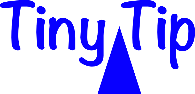 Tiny Tip Logo